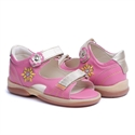 Picture of Memo  Jaspis 3JB Pink Toddler Girl Orthopedic Velcro Sandal