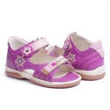 Picture of Memo Jaspis 3JE Purple-Pink Toddler Girl Orthopedic Velcro Sandal