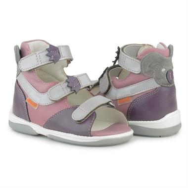 Picture of Memo Koala 3NA Pink Toddler Girl Orthopedic Support Sandal