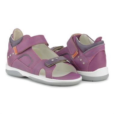 Picture of Memo Capri Purple Corrective Orthopedic AFO Sandal