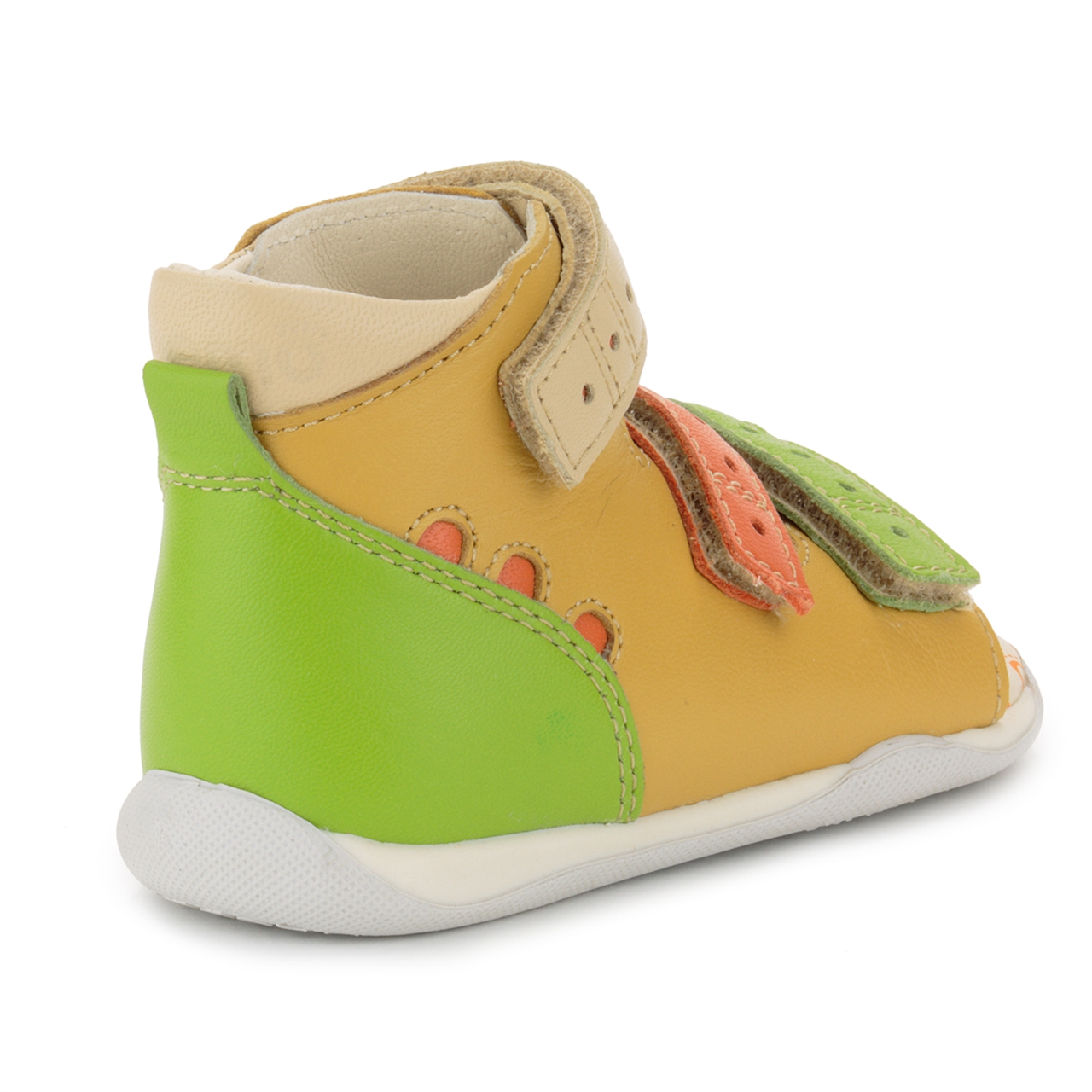 Memo Shoes. Memo Dino 3MA Yellow-Orange Infant & Toddler ...