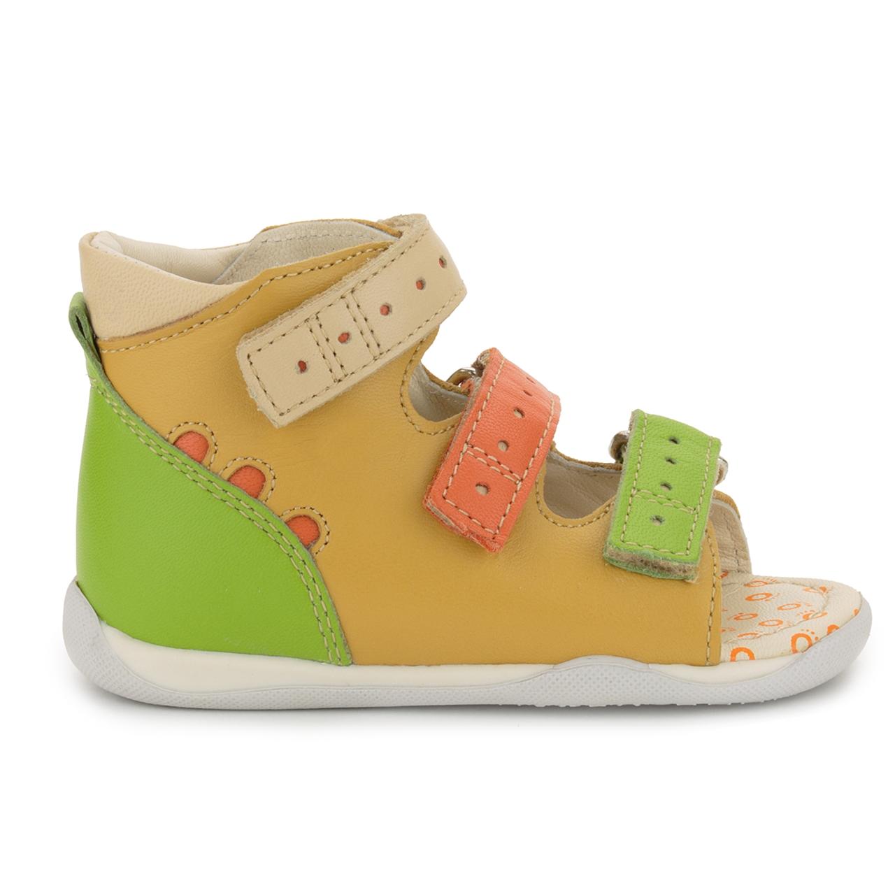 Memo Shoes Memo Dino 3ma Yellow Orange Infant Amp Toddler