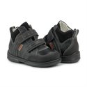 Picture of Memo Polo Junior 3LY Black Toddler Girl & Boy Orthopedic Velcro Sneaker