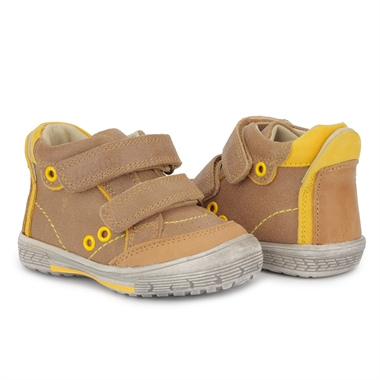 Picture of Memo Nodi 1BE First Walking Orthopedic Boys Shoes Natural Leather Sneakers (Toddler)