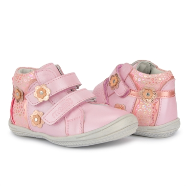 Picture of Memo Bella 3JB First Walking Orthopedic Girls Shoes Natural Leather Sneakers (Toddler)