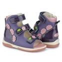 Picture of Memo Viki 3NA Purple Pink Toddler Girl Orthopedic Velcro Sandal
