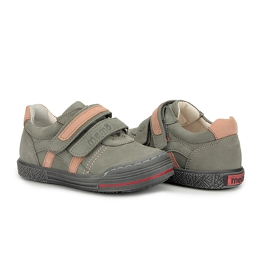 Picture of Memo Rio Prophylactic Corrective Mid-sole Orthopedic Grey Pink Tennis Shoes