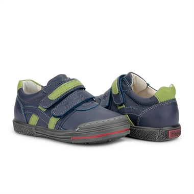 Picture of Memo Rio Prophylactic Corrective Mid-sole Orthopedic Navy Blue Tennis Shoes