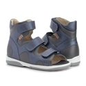 Picture of Memo Joanna Orthopedic Corrective Ankle Brace Sandal Navy Blue
