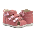 Picture of Memo Bambi First Walking Supportive SMO Brace-Like Orthopedic Sandal Pink