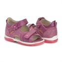 Picture of Memo Kristina Orthopedic Sandal for Flat Feet Kids, Purple