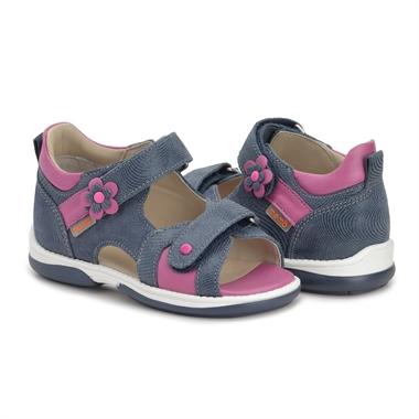 Picture of Memo Kristina Orthopedic Sandal for Flat Feet Kids, Navy Blue
