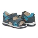 Picture of Memo Kris Orthopedic Sandal for Flat Feet Kids, Navy Blue
