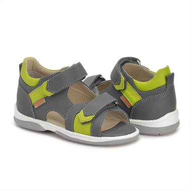 Picture of Memo Kris Orthopedic Sandal for Flat Feet Kids, Grey